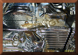 Motorcycle Engine Chemical Attacked Corrosion Investigation