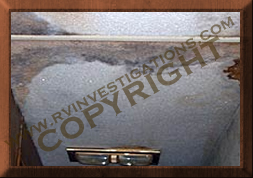 rv ceiling water intrusion