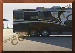 Motor home/RV Infrared Thermography Exterior Reference