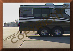 Motor home/RV Infrared Outside Reference