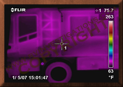 Motor home/RV Infrared Inner Structual