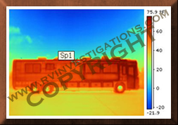 Motor home/RV Infrared Thermography Structure Analysis