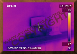 Motorhome/RV Infrared Thermography Water Intrusion