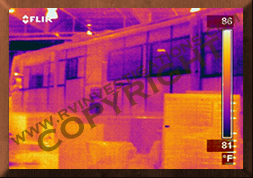 Motorhome/RV Infrared Thermography Water Intrusion Analysis