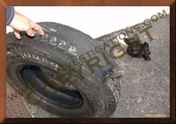 RV/Travel Trailer Tire Inspections